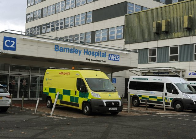 Jayne Dowle is fulsome in her praise for Barnsley Hospital.