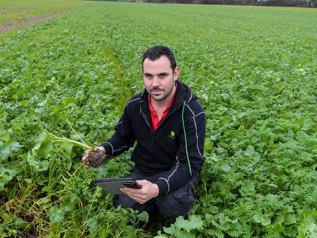 Matt Parkin said the Good Soil Guide will be a useful tool in improving soil health