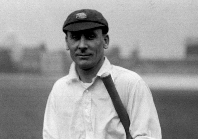 Batsman and prankster: England and Surrey cricketer Jack Hobbs. Picture: PA