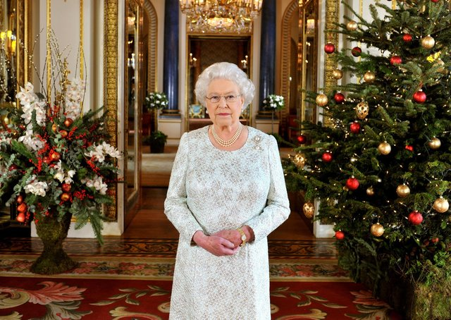 Queen Elizabeth II recorded her Christmas message to the Commonwealth in 3D for the first time in 2012. Picture: John Stillwell/PA Wire