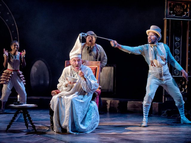 Leeds Playhouse will be streaming its production of A Christmas Carol from Dec 21 to 23.  (Picture: Anthony Robling).