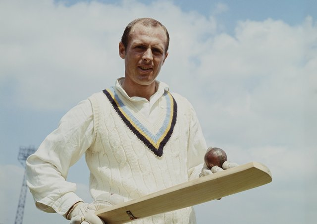 Portrait of Yorkshire and England cricketer and commentator, Geoffrey Boycott on 1 May 1965 at the Headingley Stadium, Leeds, United Kingdom. (Picture: Don Morley/Getty Images)