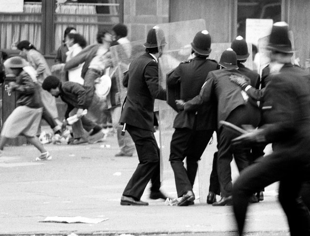 The 1981 violence in Brixton which sparked outbreaks nationwide
