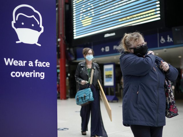 Many new words this year have been related to the Covid-19 pandemic. Photo: Christopher Furlong/Getty Images
