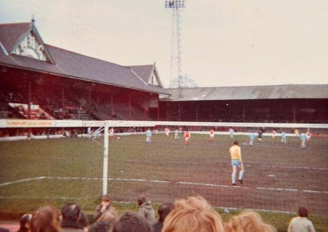 The old Bradford Park Avenue ground.