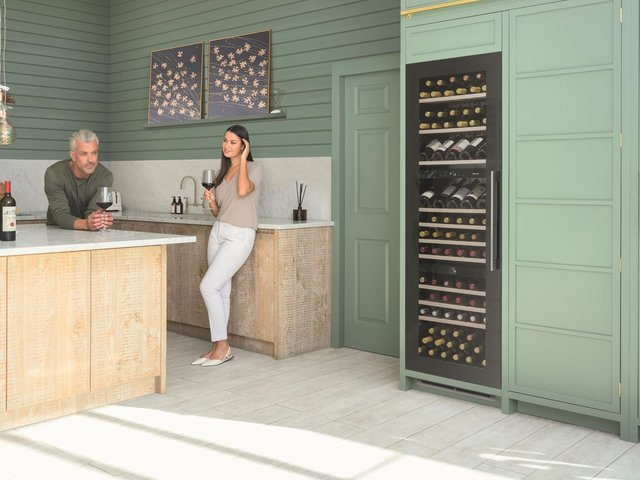 Wine fridges have become a staple in most new kitchens
