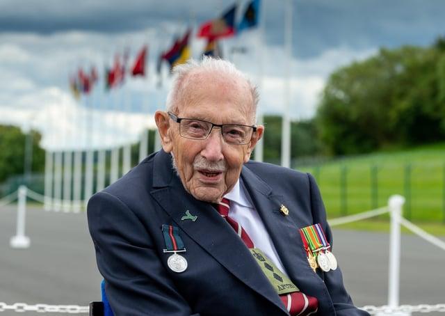 Captain Sir Tom Moore is GP Taylor's hero of 2020.