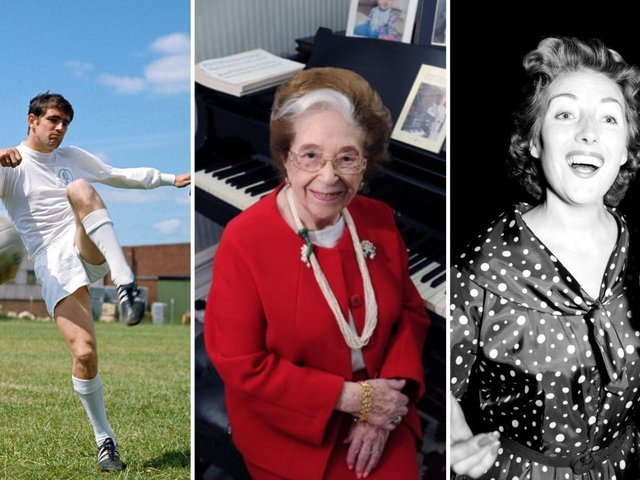 Norman Hunter, Dame Fanny Waterman and Dame Vera Lynn were among the famous faces who passed away in 2020