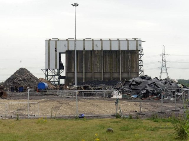 Harworth Group PLC are redeveloping the old Kellingley Colliery site. Picture Scott Merrylees