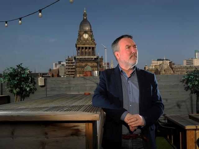 Stuart Clarke, a director of Leeds Digital Festival, says Leeds' tech sector is showing resilience.