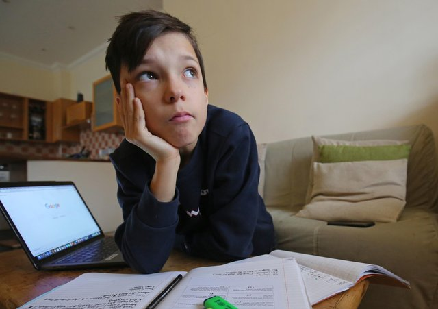 The Government is being urged to speed up the supply of laptops to students studying at home.