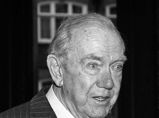 Graham Greene, seen here in 1984, was one of the great novelists of the 20th century. (PA).