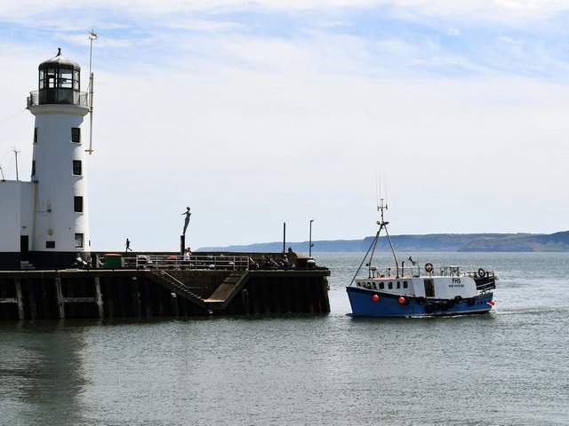 Fishermen, mainly from Scarborough and Bridlington, had been offered compensation for moving their pots  Picture: Jonathan Gawthorpe