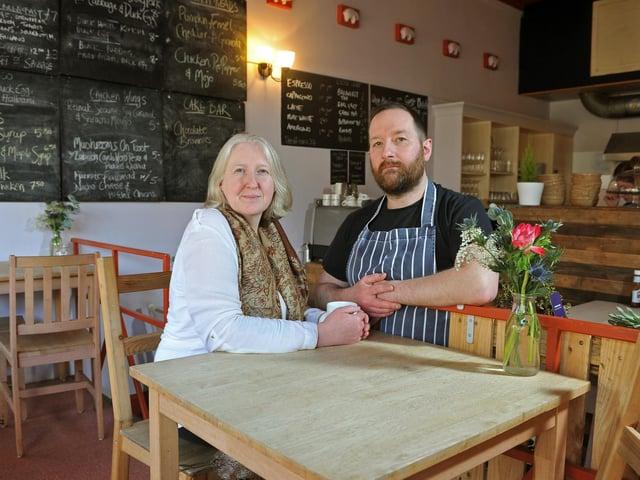 Stu and his wife Jo like to serve up 'tasty, comforting food – not cheffy stuff'. (Tony Johnson).