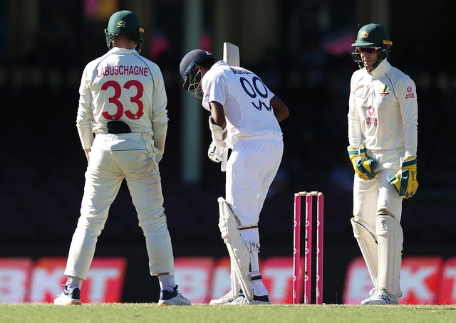 Flashpoint - Tim Paine of Australia speaks to  Ravichandran Ashwin of India during day five of the 3rd Test match in the series between Australia and India at Sydney Cricket Ground. (Picture: Ryan Pierse/Getty Images)