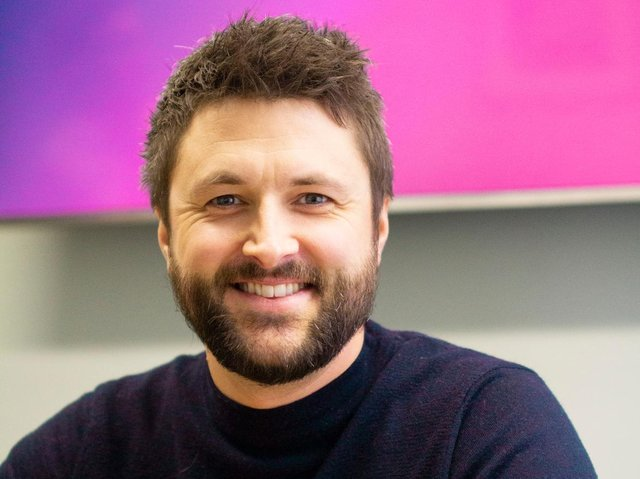 Glowing ambitions: Phil Storey hopes to grow the business and eventually sell it to a big tech firm.