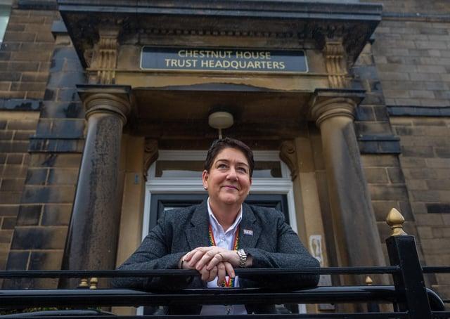 Mel Pickup,  Chief Executive of Bradford Teaching Hospital Foundation Trust. Picture James Hardisty.