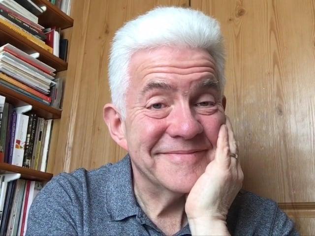 Poet and broadacster Ian McMillan.