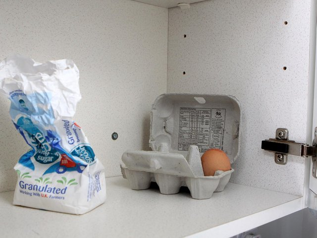 For many families, empty food cupboards are a day to day reality.