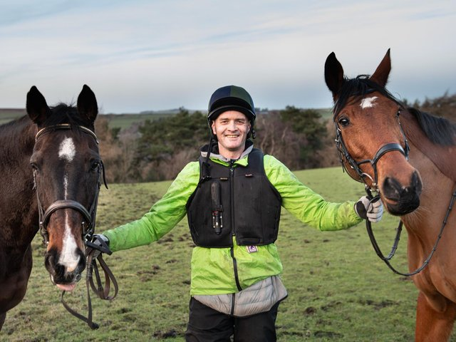 The former drug addict credits horses and his mentor Alison Garner for saving his life