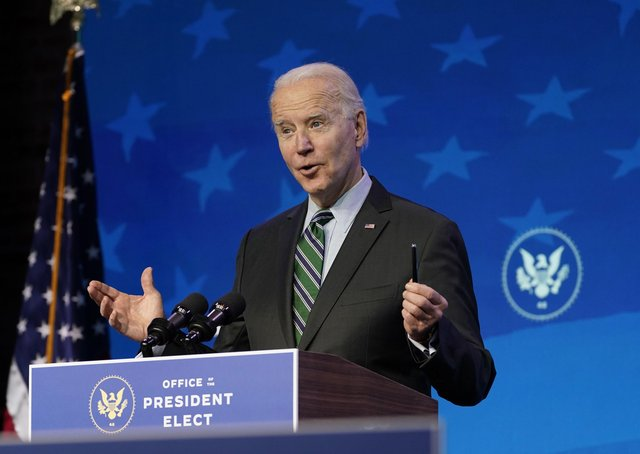 JJoe Biden's inauguration as President of the United Stakes takes place on Wednesday in Washington.