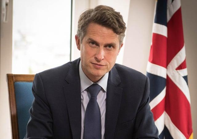 Education Secretary Gavin Williamson Picture: PA