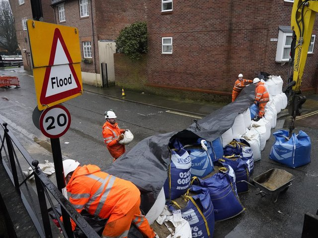 Flood defence preparations are underway in York as residents reassured if they need to evacuate they will not be fined.