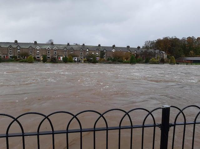 river wharfe in otley Leeds cc David Hudson