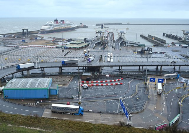 Chaos at ports like Dover has not materialised following Brexit.