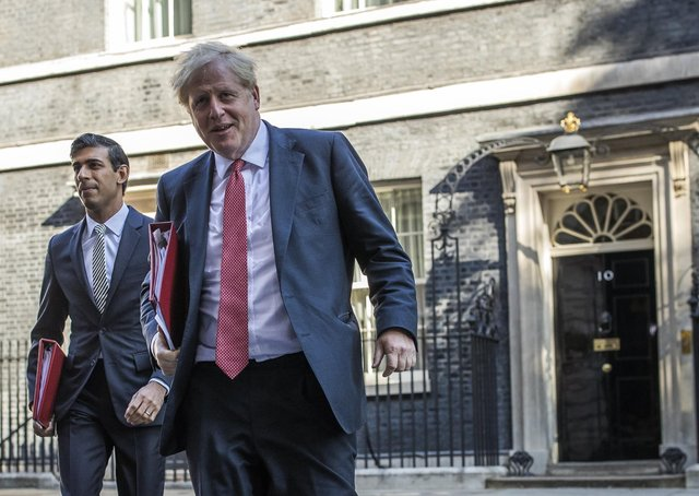 Boris Johnson and Rishi Sunak are being urged to spell out the Government's levelling up blueprint.