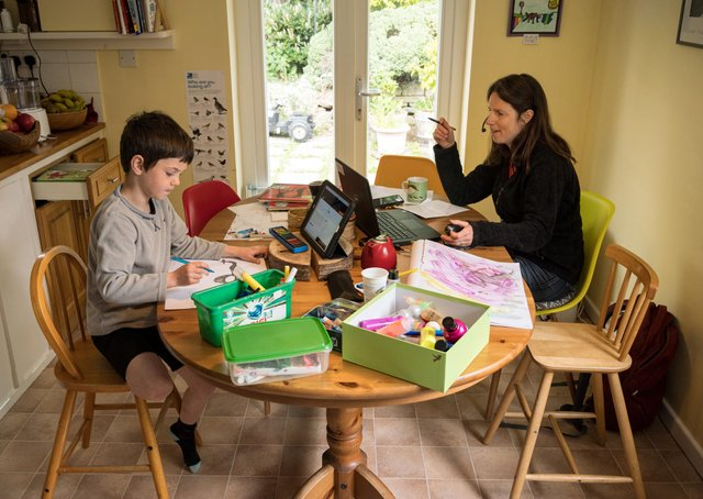 Is home learning good for youngsters? Columnist GP Taylor poses the question.