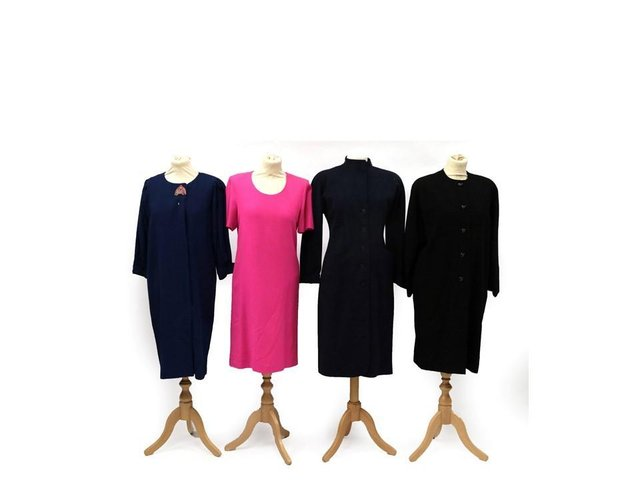 These Jean Muir dresses are coming up for sale at Tennants,