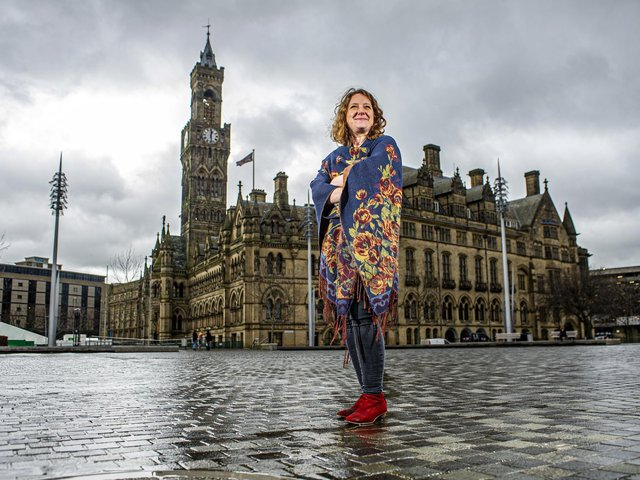 Lisa Mallaghan, commissioning producer for Bradford Producing Hub.  (Picture: Tony Johnson).