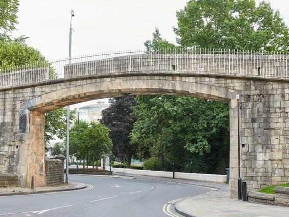 The archway that will be restored