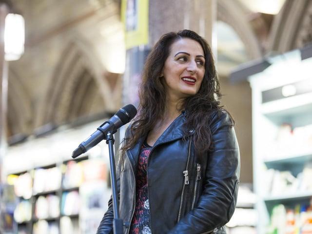 Syima Aslam, director of Bradford Literature Festival.
