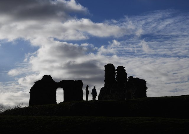Sandal Castle, Wakefield. Picture by Simon Hulme