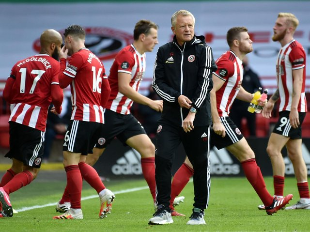 RECOMMENDATIONS: Chris Wilder unsuccessfully argued for Sheffield United to make signings