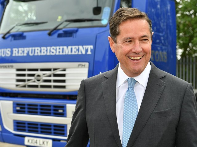 Jes Staley says the UK's financial services should look at taking on New York and Singapore.