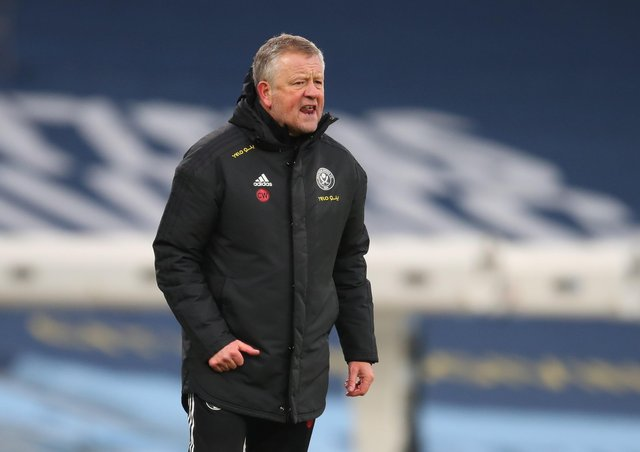 Chris Wilder manager of Sheffield United (Picture: Simon Bellis/Sportimage)