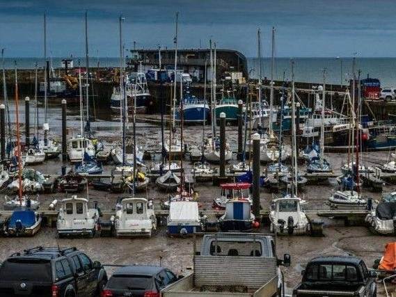 Bridlington Harbour is the largest shellfish port in Europe.