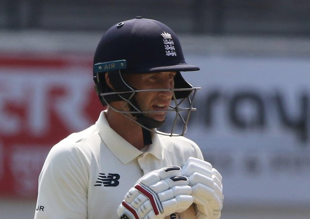 Joe Root (captain) of England during day four of the first test match between India and England held at the Chidambaram Stadium in Chennai (Picture: Pankaj Nangia/ Sportzpics for BCCI)