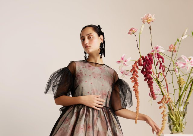 Future investment: Launched earlier this month, a dress from the Simone Rocha collaboration with H&M.