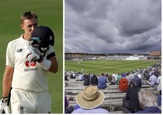 Joe Root and Scarborough's North Marine Road - a winning combination. Pictures by BCCI (via ECB) and SWPix.com
