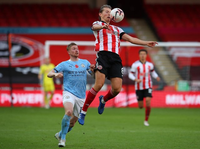 SPRINGBOARD: Sander Berge seems sure to move on if Sheffield United are relegated