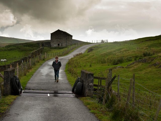 Bretten Lord as Tom in a brooding Dales landscape