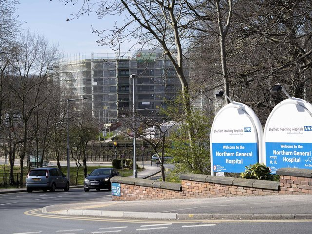 """Sheffield Teaching Hospitals said the Trust was """"very sorry"""""""