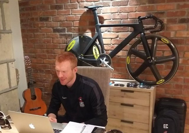 Vedette olympique : Ed Clancy.