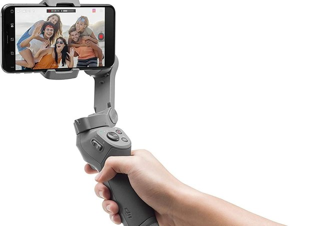 The DJI Osmo Mobile 3 gimbal can be had for just under £80