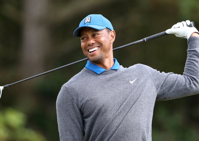 Happier times: But will we see Tiger Woods on a golf course again? (Picture: PA)