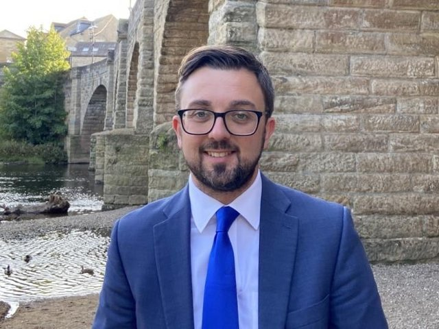 Conservative candidate for West Yorkshire mayor Matt Robinson. Photo: Conservative Party